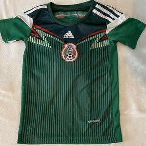 Mexico Adidas #9 soccer jersey